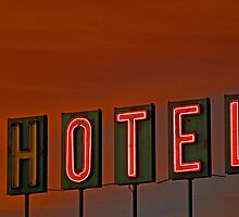 Sunset Hotel by Brian Kerls  photography