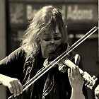 Street Musician in Chester by Stan Owen