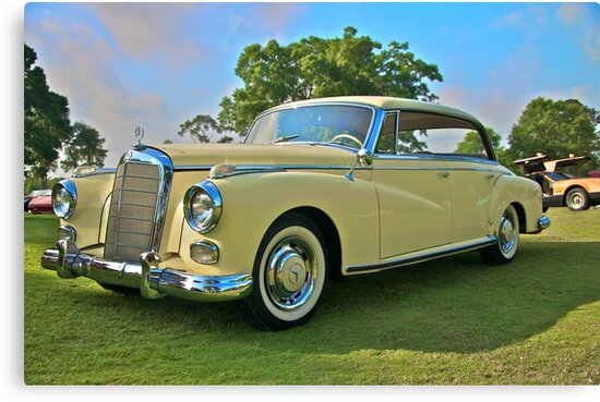 1960 Mercedes 300 Hardtop Sedan by Mike Capone
