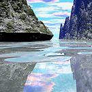 Fantasy island tropical getaway blue skys by Aurora