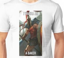 I Want To Be A Baker Unisex T-Shirt