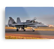 F/A-18 Hornet, A21-4, 77 Squadron, RAAF Williamtown Metal Print