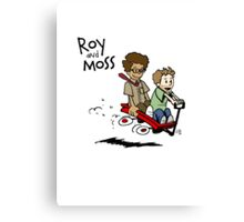Roy and Moss Canvas Print