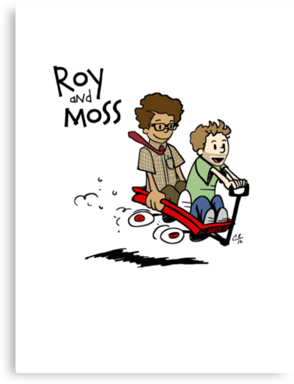 Roy and Moss by peabody00
