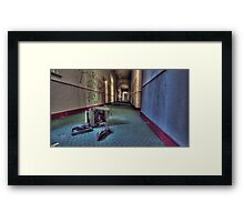 Discarded Technology Framed Print