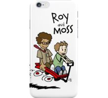 Roy and Moss iPhone Case/Skin