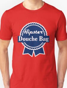 Hipster Douche Bags Unisex T-Shirt
