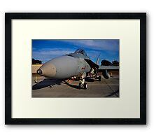 F/A-18 Hornet, A21-53, 3 Squadron, RAAF Williamtown Framed Print