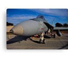 F/A-18 Hornet, A21-53, 3 Squadron, RAAF Williamtown Canvas Print