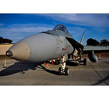 F/A-18 Hornet, A21-53, 3 Squadron, RAAF Williamtown Photographic Print