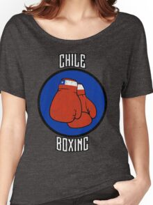 Chile Boxing Women's Relaxed Fit T-Shirt