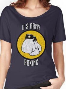 U.S. Army Boxing Women's Relaxed Fit T-Shirt