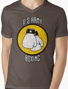U.S. Army Boxing Mens V-Neck T-Shirt