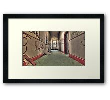 Top Level Hallway Framed Print