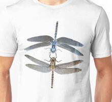 Double Dragonfly's with invert Micro photography  Unisex T-Shirt