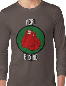Peru Boxing Long Sleeve T-Shirt