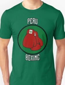 Peru Boxing T-Shirt