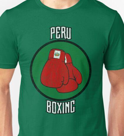 Peru Boxing Unisex T-Shirt