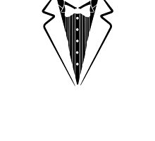 Fake Bow Tie, Tuxedo T-shirt by lolotees