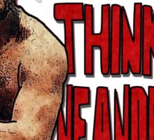 Neanderthoughts Sticker