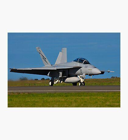 F/A-18F Super Hornet, A44-203, 1 Squadron, RAAF Amberley Photographic Print