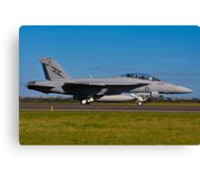 F/A-18F Super Hornet, A44-203, 1 Squadron, RAAF Amberley Canvas Print