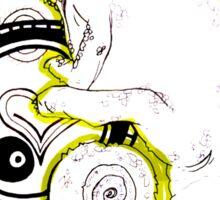 Chameleon Vector Dynasty Sticker
