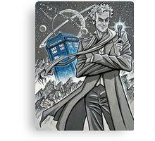 The Twelfth Doctor Canvas Print