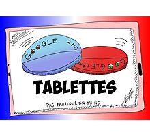 Nouvelles Options Binaires Caricature Tablettes Google Photographic Print