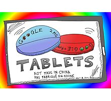 Binary Options News Google Tablets Photographic Print