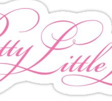 Pretty Little Liars Title - Pink Sticker