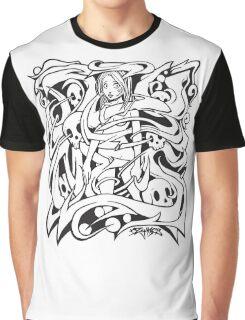 Tangled Girl Graphic T-Shirt