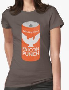 Falcon Punch Womens Fitted T-Shirt