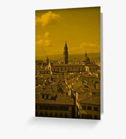 Florence City Greeting Card