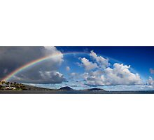 Rainbow Over Maunalua Bay Photographic Print