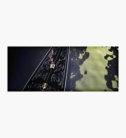 Gondola Abstract Photographic Print