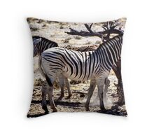 Mares & Foals Throw Pillow