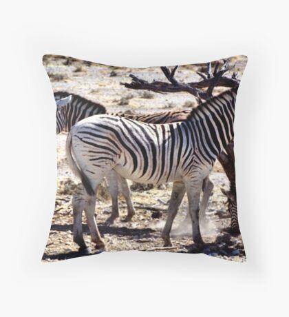 Mares & Foals Throw Pillow