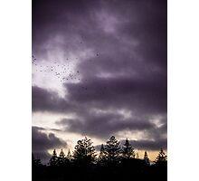 Aura sky Photographic Print