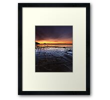 """Tessellated Pavement"" ∞ Eaglehawk Neck, Tasmania - Australia Framed Print"