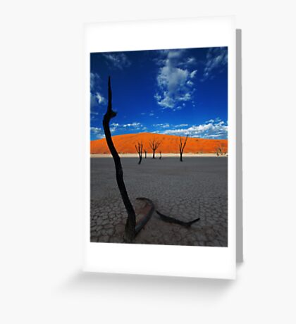 A Forest Frozen in Time Greeting Card