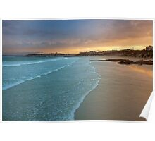 sunrise over langebaan Poster