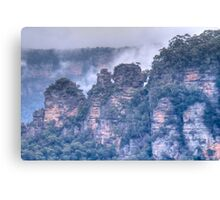 The Three Sisters - The Other Side, Blue Mountains, NSW Canvas Print