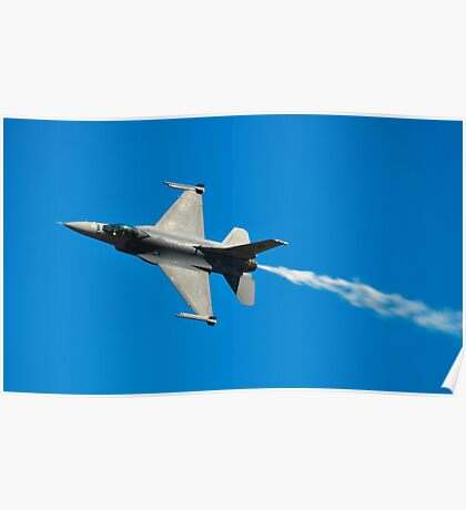 F-16C Falcon, 143 Squadron, Republic of Singapore Air Force Poster