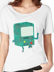 Watercolour Adventure Time BMO Women's Relaxed Fit T-Shirt