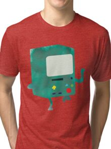 Watercolour Adventure Time BMO Tri-blend T-Shirt