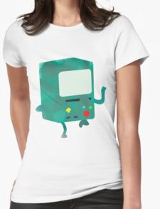 Watercolour Adventure Time BMO Womens Fitted T-Shirt
