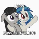 Bass, bass everywhere by DerpyDash98