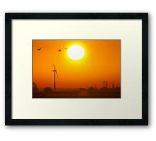 The Sun will shine Framed Print
