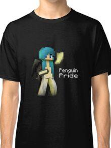 Penguin Pride ^-^ (white text) Classic T-Shirt